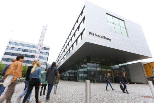 Auch die FH Vorarlberg profitiert von der Aufstockung der Studienplätze.Bernd Hofmeister