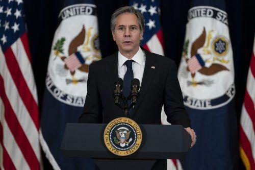 Außenminister Blinken zufolge werden sich die USA kommendes Jahr bewerben. AP