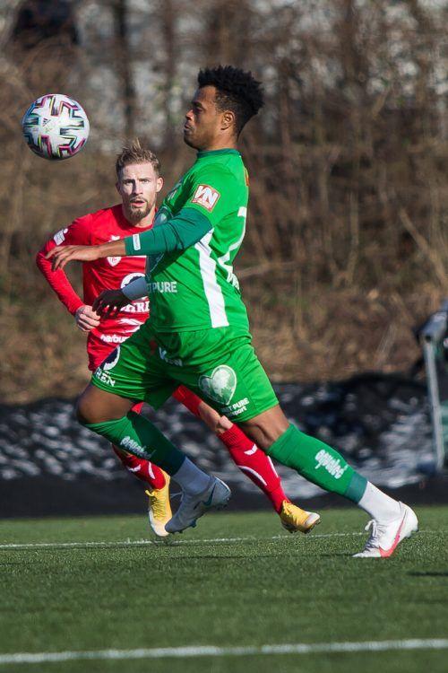 Austria Lustenau setzte sich im letzten Testspiel vor Saisonstart gegen Ligakonkurrenten FC Dornbirn knapp mit 1:0 durch. steurer