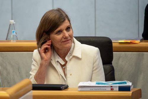 Barbara Schöbi-Fink wird am heutigen Montag Fragen beantworten. VN/Lerch