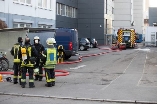 Bei einer Explosion in der Lidl-Zentrale wurden drei Personen verletzt. ApA, dpa