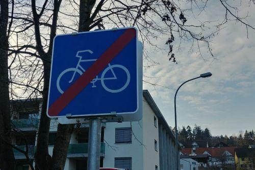 Beim Stadttunnelbau könnte in der Felsenau Schluss für den Radweg nach Feldkirch sein. Ein Sachverständiger aus Frastanz hat alternative Ideen.Heilmann