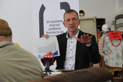 Bernhard Bereuter, Geschäftsführer des AMS Vorarlberg. vol