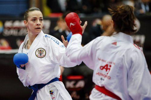 Bettina Plank absolviert diese Woche einen Trainingslehrgang auf Gran Canaria.ÖKB