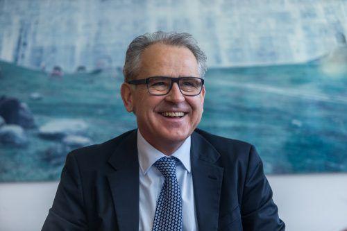 Christof Germann, Vorstandsmitglied der illwerke vkw. vn/Steurer