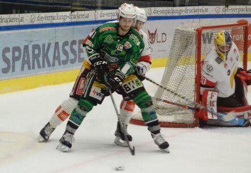Daniel Ban erzielte gegen Lustenau drei der fünf Wälder Treffer.siha