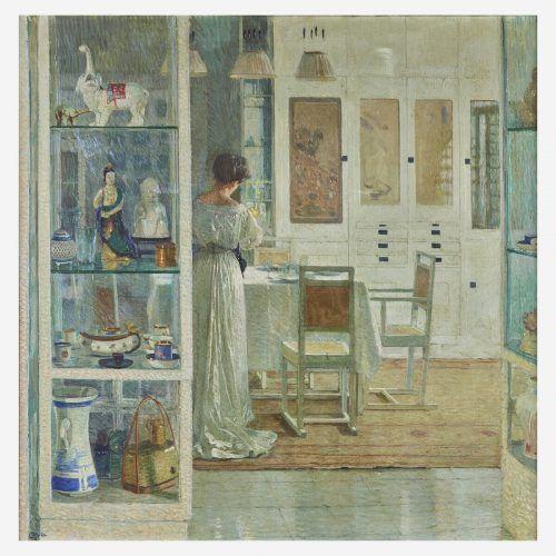 """Das Gemälde """"Weißes Interieur"""", 1905, von Carl Moll wurde um 4,75 Millionen Dollar versteigert. Freeman's"""