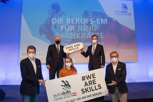 Das Initiatoren-Team der Berufs-EM für junge Arbeitskräfte. Morgenstern