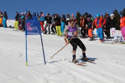Das Nostalgie-Skirennen, Highlight im Damülser Veranstaltungsprogramm, kann heuer wie so vieles nicht durchgeführt werden. STP/2