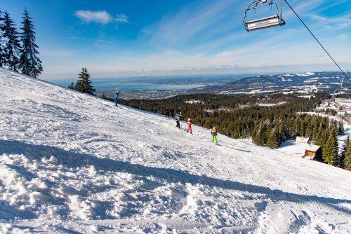 Das Skigebiet Bödele startet den Skibetrieb ab Samstag schon um 8.30 Uhr.TG Bödele