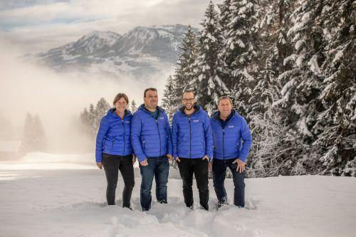 Das Team von TopCam Netzwerk aus Andelsbuch kümmert sich um die Anliegen von Privatpersonen wie Unternehmen. WILDEMBRACE.PHOTO