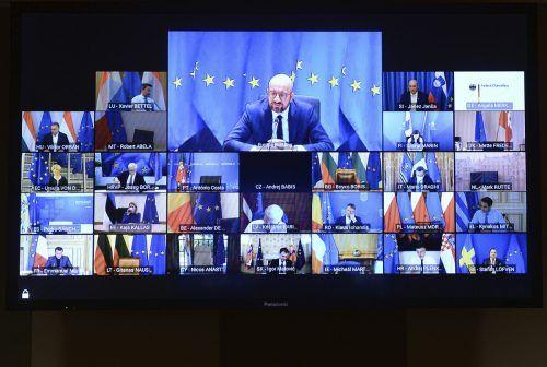 Die EU will bis März 2022 einen strategischen Kompass in der Sicherheits- und Verteidigungspolitik geben, kündigte Ratschef Charles Michel an. AP