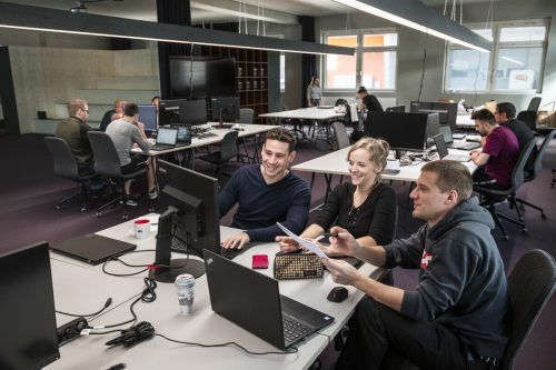 Der Digital Campus der Arbeiterkammer in Feldkirch bietet 200 Kurse. AK/Fasching