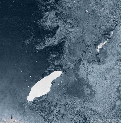 Der Eisberg hatte sich im Juli 2017 vom Larsen-Schelfeis gelöst. AFP