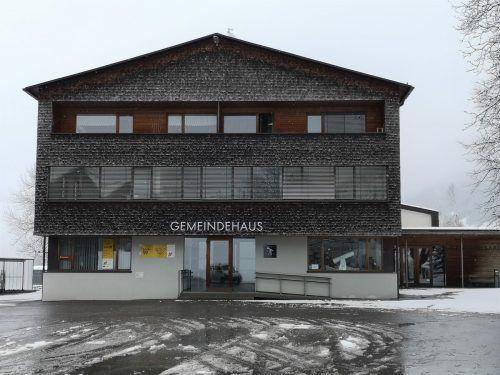 Der Finanzverwaltung Vorderwald wird das zweite Obergeschoss im Gemeindeamt Krumbach zur Verfügung gestellt. ME/2