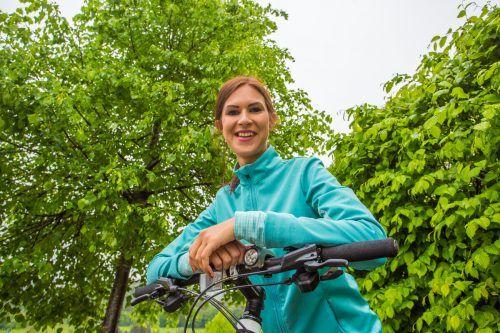Der Frühling ist zur Freude vieler nicht mehr allzu weit. Das treibt auch Radlfans wie Sabine aus Weiler wieder vermehrt hinaus ins Gelände. vn/Steurer