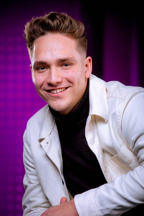 Der Lustenauer Noah Küng ist bereit für den großen Auftritt. ORF