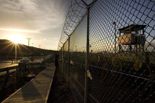 Der neue US-Präsident Joe Biden plant das hochumstrittene Straflager an der Südostspitze von Kuba zu schließen.  AFP