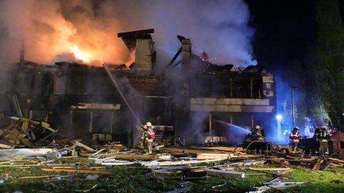 Der wohl spektakulärste Einsatz war die Explosion der Ausweichschule im Oktober 2020. APA/SHOUROT