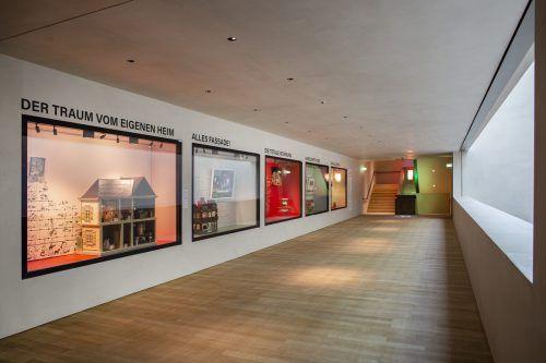 """Die Ausstellung """"Home Sweet Home"""" im Vorarlberg Museum.P. Rainer"""