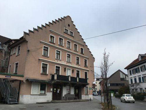 Die Marktgemeinde Hard berät derzeit, wie das ehemalige Gasthaus künftig neu genutzt werden kann.