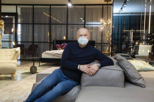 Die Öffnung sei für Firmen und Mitarbeiter ein wichtiges Signal, sagt Harald Künzle, Geschäftsführer von Reiter Design.VN/Paulitsch