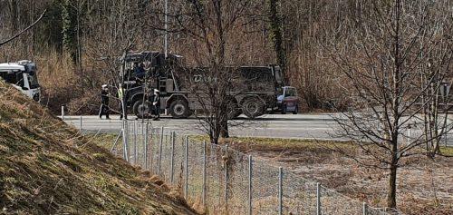 Die Polizisten hatten es auf ältere und technisch auffällige Lkw abgesehen.