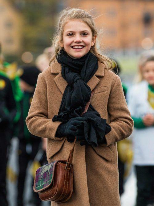 Die schwedische Prinzessin Estelle wurde am Dienstag neun Jahre alt. AFP