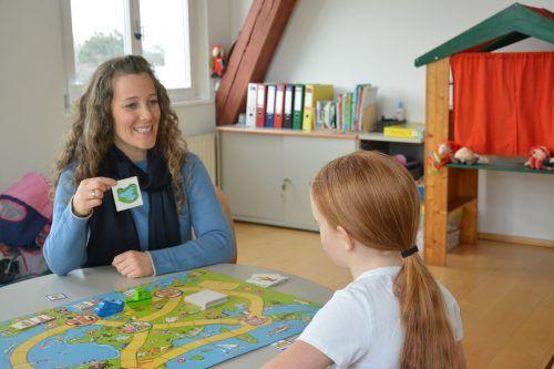"""""""Die Sprache öffnet die Tür in die Gesellschaft"""", sagt Logopädin Sabine Ritter. bvs"""