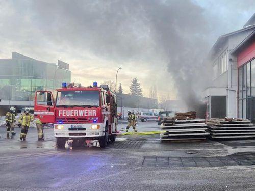 Die Ursache, die zum Brand in der Firma in Dornbirn/Schwefel geführt hatte, konnte nun geklärt werden. FEUERWEHR DORNBIRN