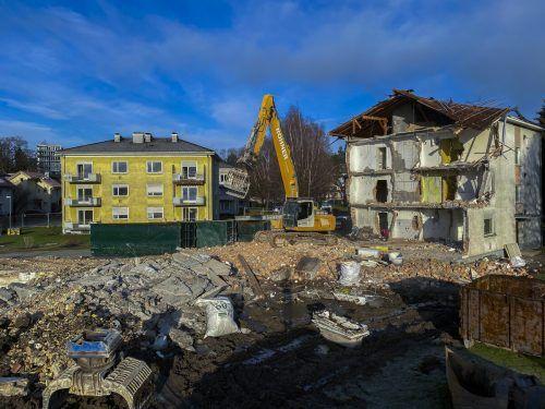 Diese alte Vogewosi-Anlage in Bregenz wird durch eine neue ersetzt. Roland Paulitsch