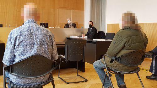 Einer der beiden angeklagten Polen vor Gericht. ECKERT