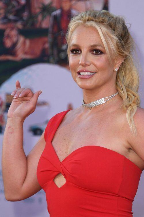 Einige Stars haben sich mich Britney Spears solidarisiert.AFP