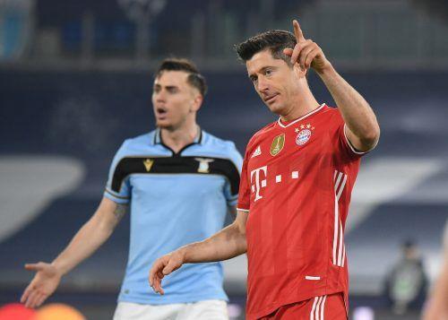 Einmal mehr eröffnete Robert Lewandowski den Torreigen der Bayern.Reuters
