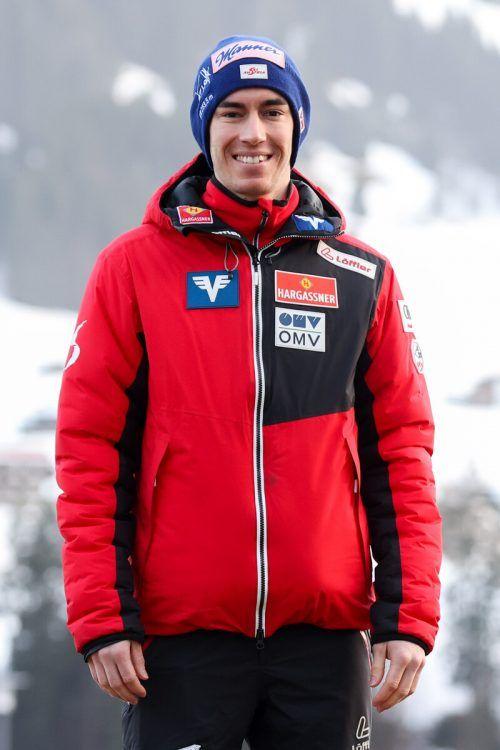 Entwarnung: Stefan Kraft fühlt sich gut und bereit für das WM-Skispringen.gep