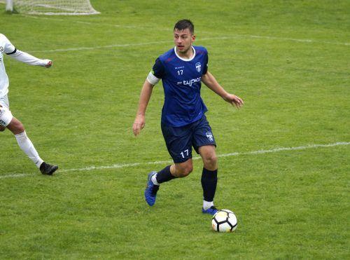 Fabio Feldkircher spielt für den FC Typico Lochau.