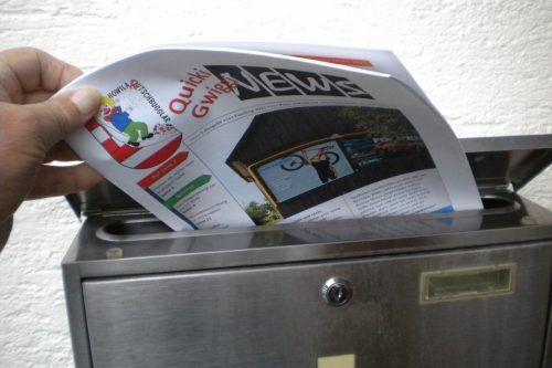 Fasnat spielt sich fast nur in Form von Fasnatzeitung im Briefkasten ab. STP
