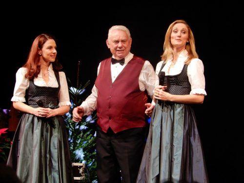 Viele verschiedene Musikgruppen und Sänger begrüßt Günther Lutz jedes Jahr auf der Kulturhausbühne.