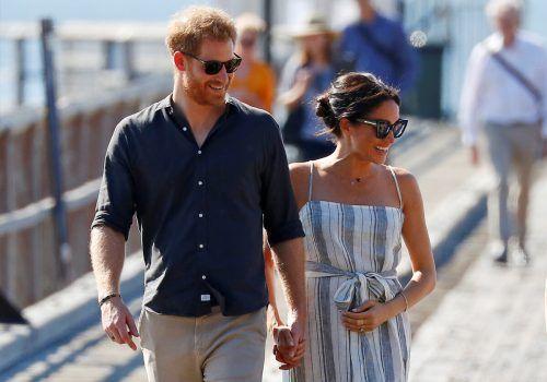 Harry und Meghan dürfen sich über baldigen Nachwuchs freuen. Reuters