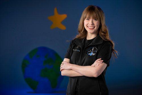 Hayley Arceneaux könnte bald ins Weltall starten. AFP