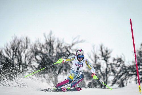 Henrik Kristoffersen machte die schlechte Piste nichts aus, er fuhr bei der WM-Generalprobe in Chamonix zu seinem zweiten Saisonsieg.apa