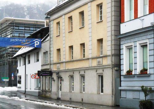 Hier in der Kornmarktstraße im Herzen der Landeshauptstadt trafen sich in früheren Zeiten die Bregenzer im Brigantia.