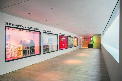 """""""Home Sweet Home"""" heißt die neue Ausstellung im zweiten Obergeschoss im Vorarlberg Museum in Bregenz.veranstalter"""