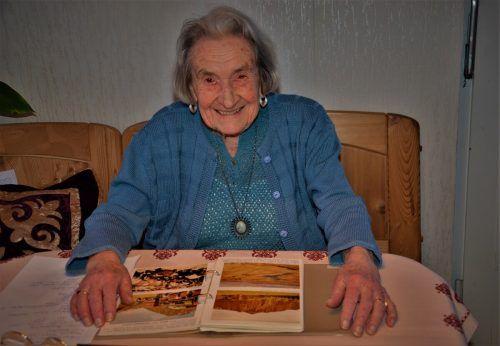 """Ilse Karola Cirtek feiert heute ihren 102. Geburtstag: """"Ich bin gesund, es geht mir gut."""" HRJ"""