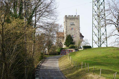 Im Budget sind auch Mittel für Sanierungen im Schloss vorgesehen.hapf/3