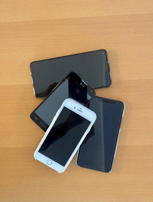 Im ganzen Land wurden wieder fleißig Handys gesammelt.VN/JS