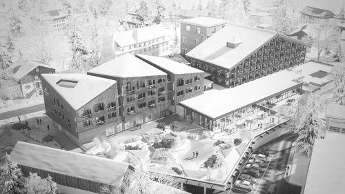 Im kommenden Jahr soll mit dem Zubau beim Hotel Löwen begonnen werden.Monoplan