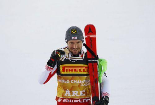 In Cortina müssen andere Läufer für Marcel Hirscher in die Bresche springen.reut