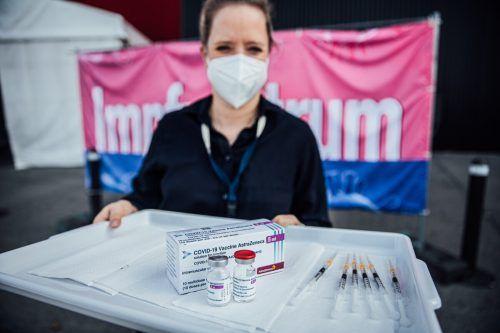 In den Impfzentren dürfte es in dieser Woche wieder rundgehen.vn/Sams