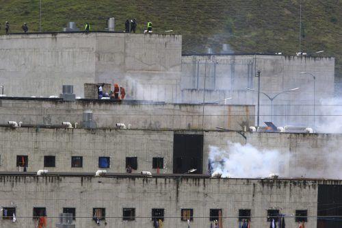 In mehreren Haftanstalten brachen zeitgleich Krawalle aus. AFP